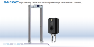 Mataas na Sensitivity ng temperatura ng EI-MD3000T Pagsukat ng Walkthrough Metal Detector (Pang-ekonomiya)